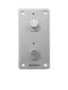 OMNITRONIC PA Cotroler de volum și selector de program 10W, mono, argintiu