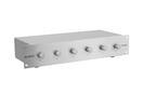 OMNITRONIC PA Controler de volum pe 6 zone, mono, 120W, argintiu