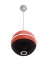 OMNITRONIC WPC-5R Boxă sferică de tavan, roșie