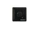 OMNITRONIC PA Controler de volum, 20 W, stereo, negru