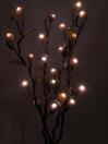 EUROPALMS Ramură înflorită, 120cm, 20 LED-uri