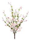 EUROPALMS Ramură de cireș înflorit, roz, 60cm