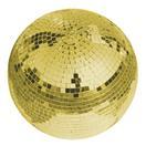EUROLITE Glob cu oglinzi auriu, fără motor, 30 cm