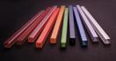 EUROLITE Tub pentru profil de scară, 10x10mm, roșu, UV activ, 2m