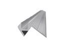 EUROLITE Profil de treaptă, 10x10mm, argintiu, 4m