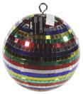 EUROLITE Glob cu oglinzi multicolor, fără motor, 20 cm