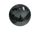 EUROLITE Glob cu oglinzi negru, fără motor, 30 cm