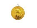 EUROLITE Glob cu oglinzi auriu, fără motor, 15 cm