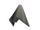EUROLITE Profil de treaptă, 10x10mm, negru, 2m
