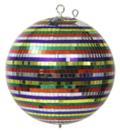 EUROLITE Glob cu oglinzi multicolor, fără motor, 30 cm