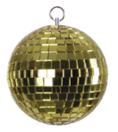 EUROLITE Glob cu oglinzi galben, fără motor, 10 cm