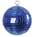 EUROLITE Glob cu oglinzi albastru, fără motor, 10 cm