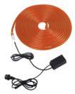 EUROLITE RL2 Tub flexibil luminos cu controler, 230V, portocaliu, 10m