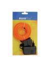 EUROLITE EL Fire luminoase portocalii, 5mm, 10m