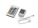 EUROLITE LED Controler pentru bandă cu LED RGB, cu telecomandă IR, 12V
