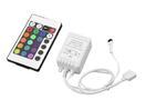 EUROLITE LED Controler pentru bandă cu LED RGB, cu telecomandă IR, 24V
