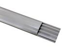 EUROLITE Canal de cablu pentru podea, aluminiu, 75mm, 4m