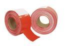 STAGETAPE Bandă barieră roșu cu alb, 500mx75mm
