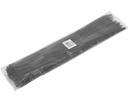 EUROLITE Legătură din plastic pentru cabluri, neagră, 450x4,8mm,100 buc