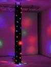 EUROLITE CRT-100 Cortină cu LED-uri pentru schelă, 3m