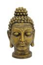 EUROPALMS Statuetă cap de Buddha, auriu antic, 75 cm