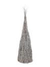 EUROPALMS Piramidă din crengi, alb spălat, 90cm