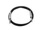 OMNITRONIC Cablu 6,3mm tată la 6,3mm tată 1m, negru