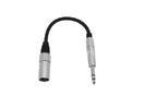 OMNITRONIC SADC Cablu cu XLR tată/6,3 jack tată, stereo