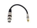 OMNITRONIC SADC Cablu cu XLR mamă/RCA tată