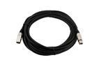 OMNITRONIC MC-215 Cablu cu XLR  mamă la tată, 2x1.5mm, 15m, negru