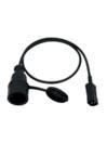 OMNITRONIC IEC MIGK-1 Cablu adaptor cu priză, 1m