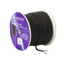 OMNITRONIC Cablu pentru boxe durabil 2x1.5mm, negru /50m