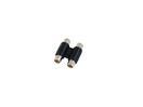 OMNITRONIC Adaptor RCA mamă/RCA mamă, stereo /10 buc
