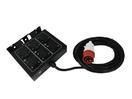 EUROLITE SB-65 Spliter cu 6 prize, cablu 7.5m + mufă tată CEE 16A