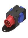 PSSO CEE-3SK Distribuitor compact  cu 1 priză CEE si 3 prize SK