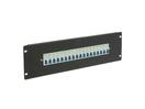 EUROLITE PDM 3U-18x16A FB Distribuitor cu 18 siguranțe x 16 A, pentru rack