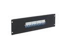 EUROLITE PDM 3U-4x32A FB Distribuitor cu 4 siguranțe x 32 A, 3 pini, pentru rack