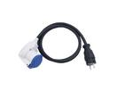 PSSO WCEK25 Cablu adaptor 250V 16A,3x2.5mm, 1.5m