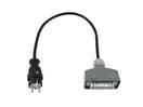 PSSO H0 7RN-F 3G1,5 S-HA Cablu adaptor cu cuplă, 0,5m