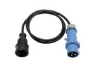 PSSO CEES Cablu adaptor 250V 16A,3x1.5mm, 1.5m