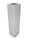 EUROPALMS LEICHTSIN BOX-120, Ghiveci decorativ argintiu lucios