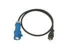 PSSO CEK25 Cablu adaptor 250V 16A,3x2.5mm, 1.5m