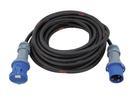 PSSO CEE Cablu prelungitor cu mufe CEE, 63A, 3G16, IP44, 25m