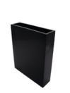 EUROPALMS LEICHTSIN CUBE-100, Ghiveci decorativ negru stralucitor