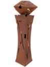 EUROPALMS Coloană mistică, cu fulgere, ruginit, 137cm