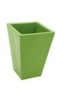 EUROPALMS Ghiveci din fibră de sticlă, verde, 39x45cm