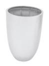 EUROPALMS LEICHTSIN CUP-69 Ghiveci decorativ argintiu lucios