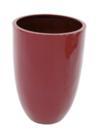 EUROPALMS LEICHTSIN CUP-69 Ghiveci decorativ roșu lucios