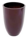 EUROPALMS LEICHTSIN CUP-69 Ghiveci decorativ maro lucios