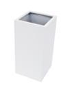 EUROPALMS  LEICHTSIN BOX-80 Ghiveci decorativ alb lucios